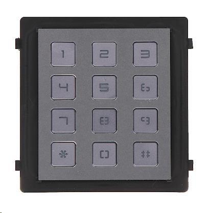 Hikvision DS-KD-KP, antivandal, numerická klávesnice IP65 - obrázek č. 0
