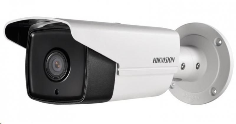 HIKVISION IP kamera 4Mpix, H.265+, 20sn/s, obj. 2,8mm (110°), PoE, IR 80m, IR-cut, WDR 120dB, analyt, MicroSD, IP67 - obrázek č. 0