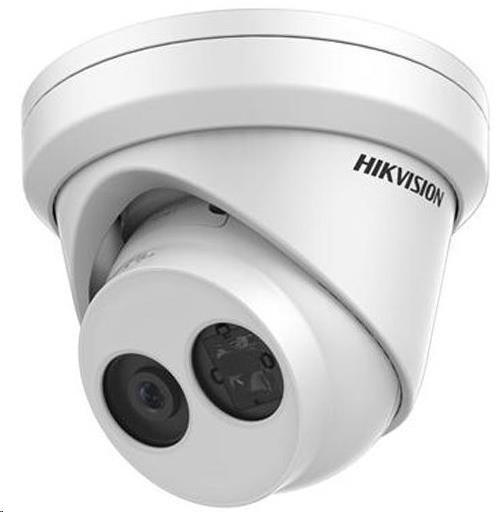 HIKVISION IP kamera 4Mpix, H.265+, 25sn/s, obj. 2.8mm (100°), PoE, IR 30m, IR-cut, WDR 120dB, analyt, MicroSD, IP66 - obrázek č. 0