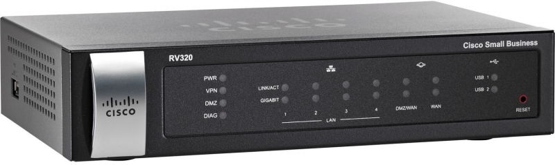 Cisco RV320-K9-G5 Gigabit Dual WAN VPN Router - obrázek č. 0