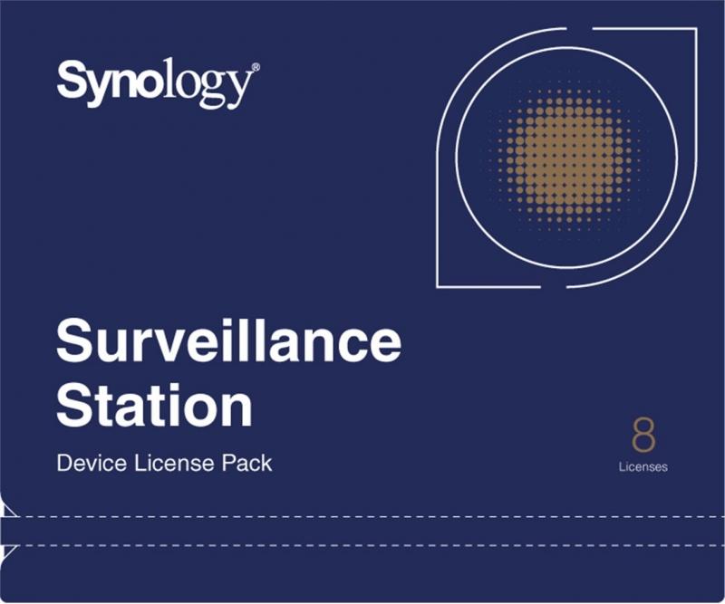 Synology Licenční balíček pro kamery - 8 kamer - obrázek č. 0