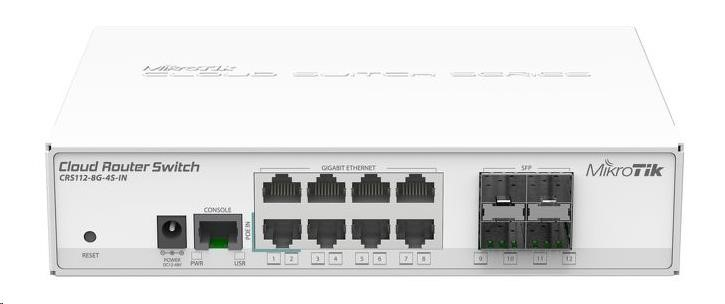 MikroTik RouterBOARD CRS112-8G-4S-IN - obrázek č. 0
