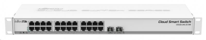 MikroTik Cloud Smart Switch CSS326-24G-2S+RM - obrázek č. 0