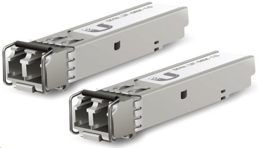 Ubiquiti Multi-Mode optický modul SFP, 1.25 Gbps, 550m, sada 2 kusů - obrázek č. 0