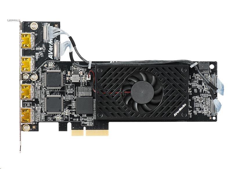 AVERMEDIA CL314H1 střihová (záznamová) karta, PCIe GEn2x4, 1080p60 - obrázek č. 0