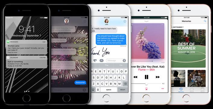 Apple iPhone 7 128GB - Gold - obrázek č. 10