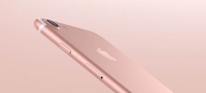 Apple iPhone 7 Plus 128GB - Rose Gold - obrázek č. 1