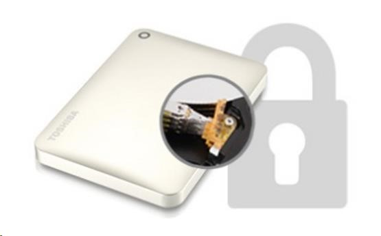 "TOSHIBA HDD CANVIO CONNECT II 500GB, 2,5"", USB 3.0, černý - obrázek č. 6"