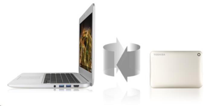 """TOSHIBA HDD CANVIO CONNECT II 500GB, 2,5"""", USB 3.0, bílý - obrázek č. 5"""