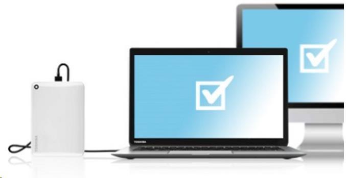 """TOSHIBA HDD CANVIO CONNECT II 500GB, 2,5"""", USB 3.0, bílý - obrázek č. 7"""
