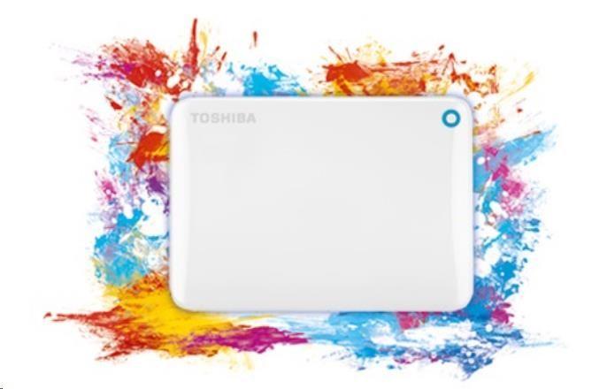 """TOSHIBA HDD CANVIO CONNECT II 500GB, 2,5"""", USB 3.0, bílý - obrázek č. 0"""