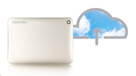 "TOSHIBA HDD CANVIO CONNECT II 1TB, 2,5"", USB 3.0, zlatý - obrázek č. 3"
