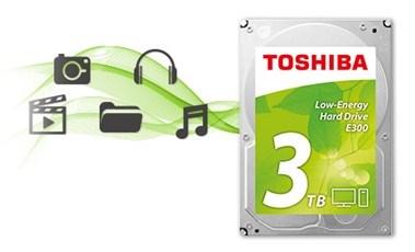 TOSHIBA E300 3TB - obrázek č. 0