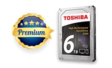 TOSHIBA HDD X300 6TB, SATA III, 7200 rpm, 128MB - obrázek č. 2