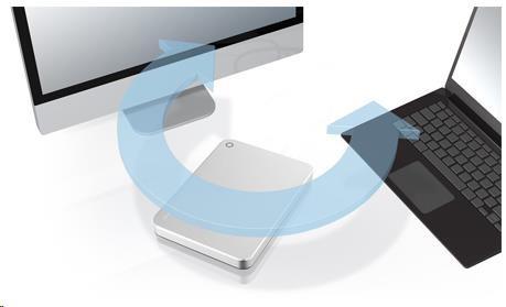 Toshiba Canvio Premium - 1TB, metalická stříbrná - obrázek č. 6