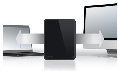 TOSHIBA Canvio For Desktop 4TB - obrázek č. 4