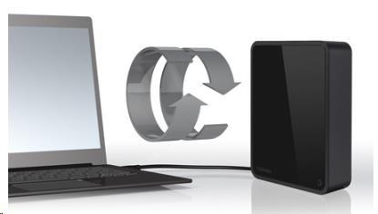 TOSHIBA Canvio For Desktop 6TB - obrázek č. 2