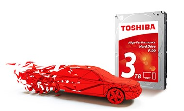 Toshiba HDD P300 1TB - obrázek č. 0
