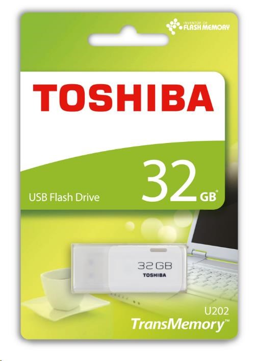 Toshiba U202 32GB, bílá - obrázek č. 0