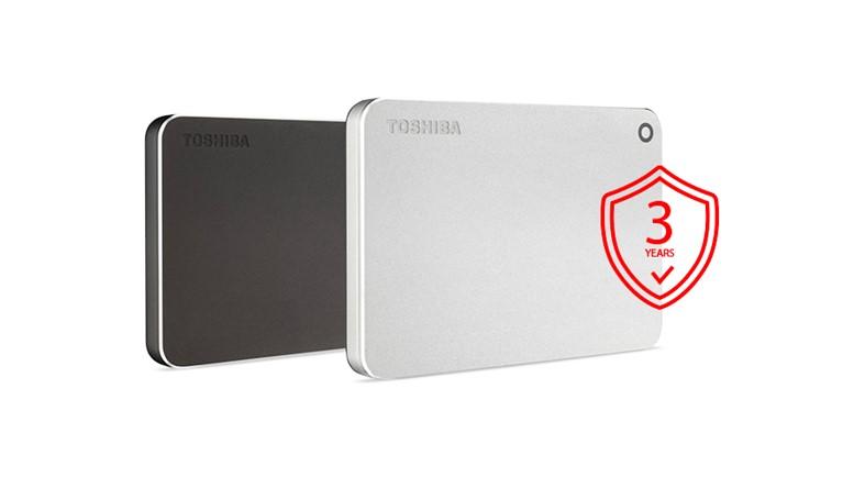 Toshiba Canvio Premium - 2TB, metalická stříbrná - obrázek č. 6