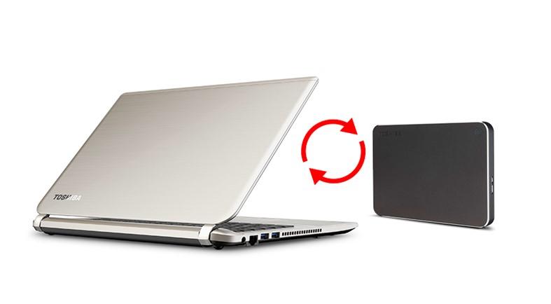 Toshiba Canvio Premium - 3TB, tmavě šedá - obrázek č. 4