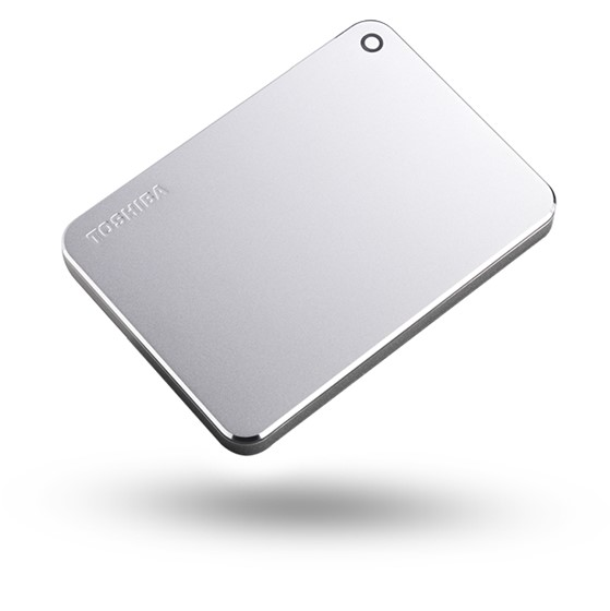 Toshiba Canvio Premium - 3TB, metalická stříbrná - obrázek č. 0