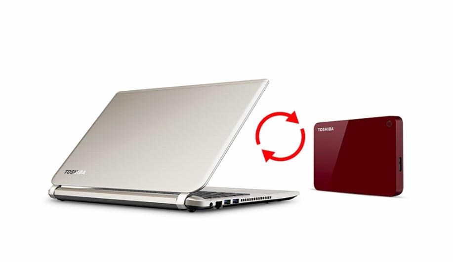 Toshiba ADVANCE 1TB, červený - obrázek č. 3