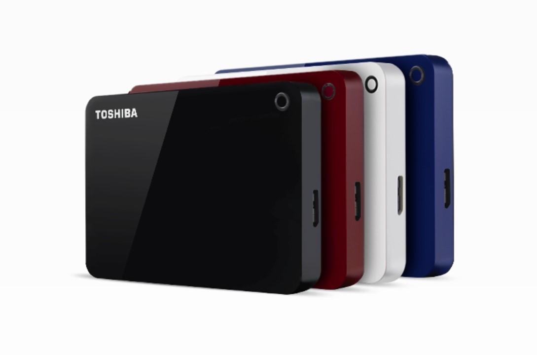 Toshiba ADVANCE 1TB, červený - obrázek č. 1