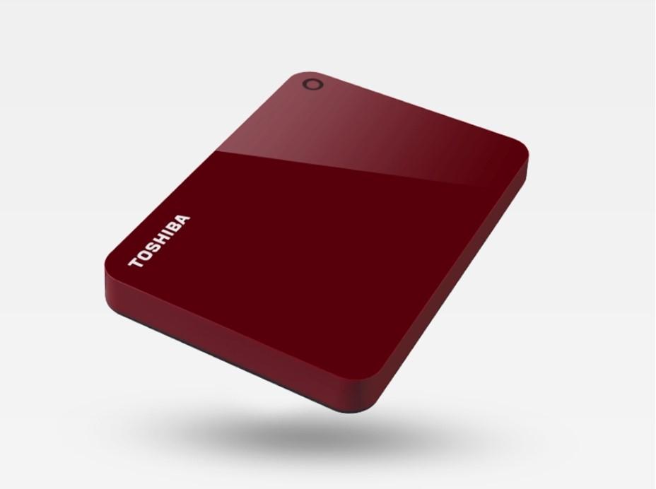 Toshiba ADVANCE 2TB, červený - obrázek č. 0