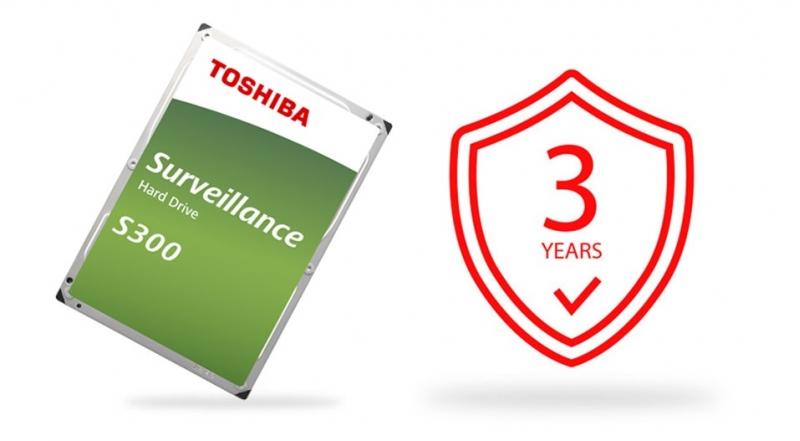 TOSHIBA HDD S300 Surveillance 4TB, SATA III, 7200 rpm, 128MB cache, 3,5 - obrázek č. 7