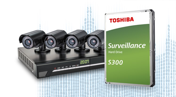 TOSHIBA HDD S300 Surveillance 4TB, SATA III, 7200 rpm, 128MB cache, 3,5 - obrázek č. 3