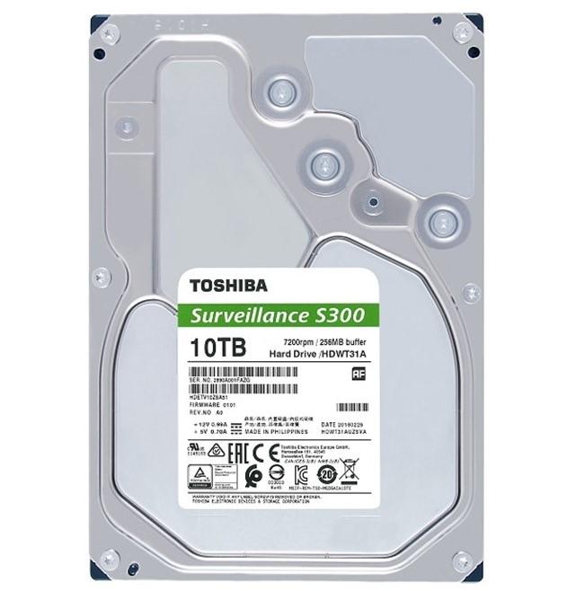 TOSHIBA HDD S300 Surveillance 10TB, SATA III, 7200 rpm, 256MB cache, 3,5 - obrázek č. 1