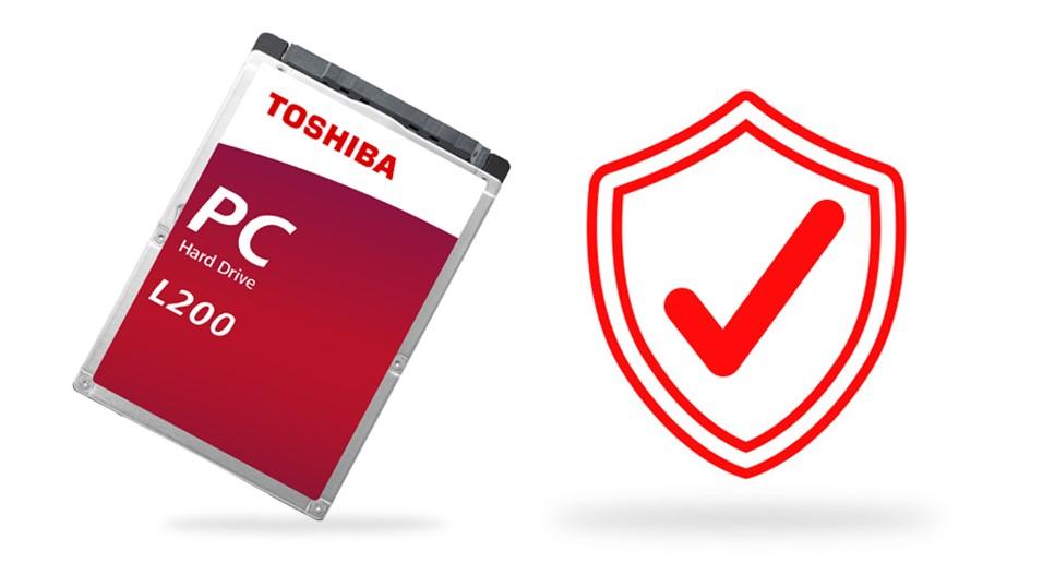 TOSHIBA HDD L200 1TB, SMR, SATA III, 5400 rpm, 128MB cache, 2,5 - obrázek č. 5