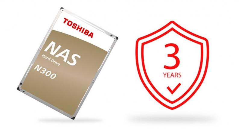 TOSHIBA HDD N300 10TB - NAS  - obrázek č. 7