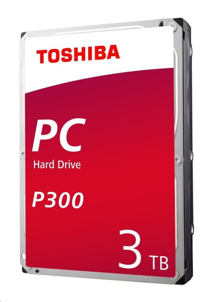TOSHIBA HDD P300 3TB, SATA III (HDWD130UZSVA) - obrázek č. 0