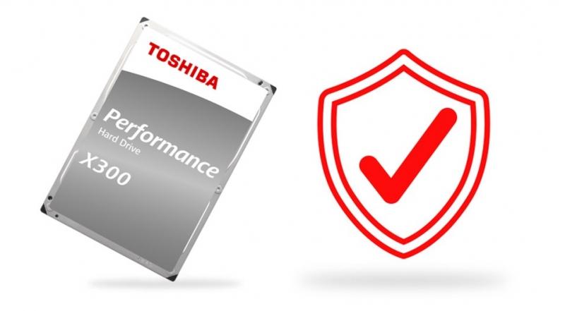 TOSHIBA HDD X300 4TB, SATA III, 7200 rpm, 128MB cache, 3,5 - obrázek č. 6