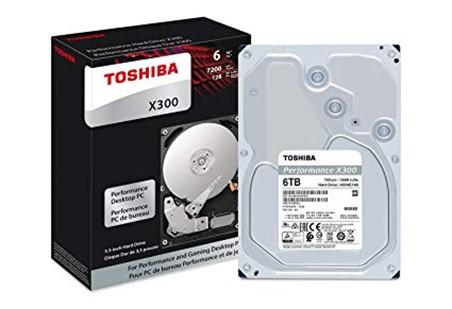 TOSHIBA HDD X300 6TB, SATA III, 7200 rpm, 128MB cache, 3,5 - obrázek č. 1