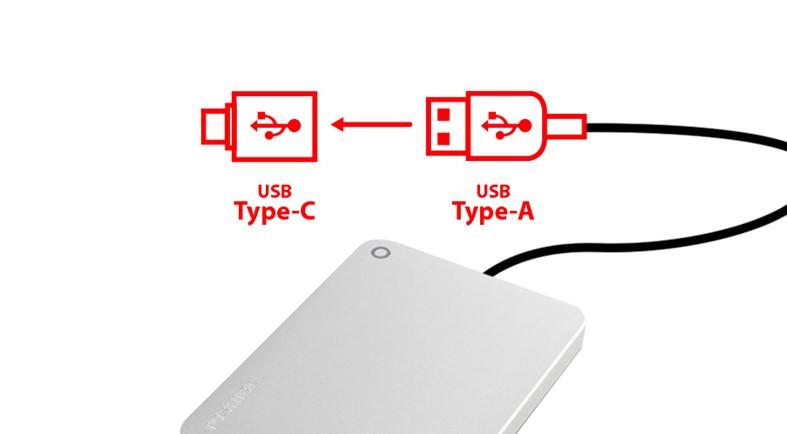 TOSHIBA Canvio Premium 4TB, šedá (HDTW240EB3CA) - obrázek č. 2