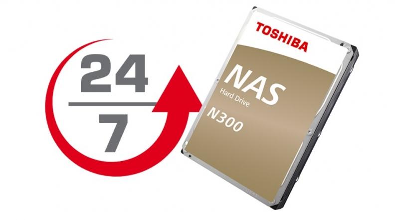 TOSHIBA HDD N300 NAS 12TB, SATA III, 7200 rpm, 256MB cache, 3,5 - obrázek č. 3