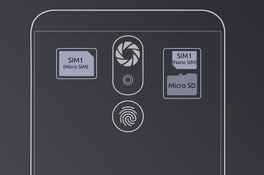 Cubot R9, 16GB ROM, 2GB RAM - černá - obrázek č. 4