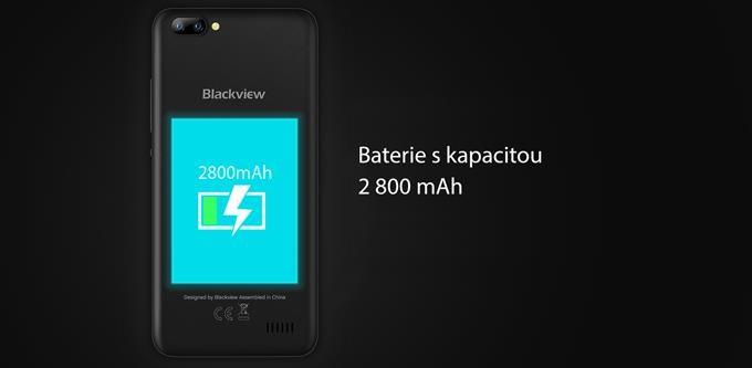 iGET Blackview GA7, Dual SIM, Gold - obrázek č. 5