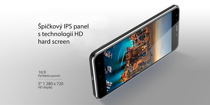 iGET Blackview GA7, Dual SIM, Gold - obrázek č. 2