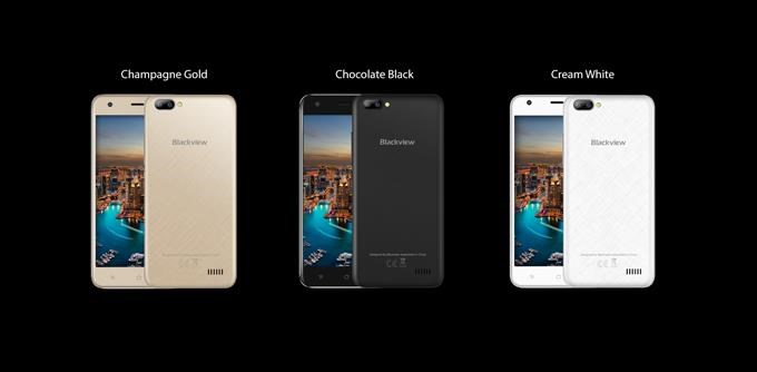iGET Blackview GA7, Dual SIM, Gold - obrázek č. 0