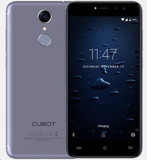 Cubot Note Plus, Dual SIM, LTE, 32GB, 3GB RAM, modrá - obrázek č. 4