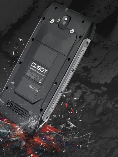 Cubot King Kong, DS vodotěsný odolný telefon - černá - obrázek č. 1