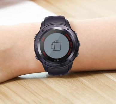 CUBOT F1 Fitness hodinky - černé - obrázek č. 7