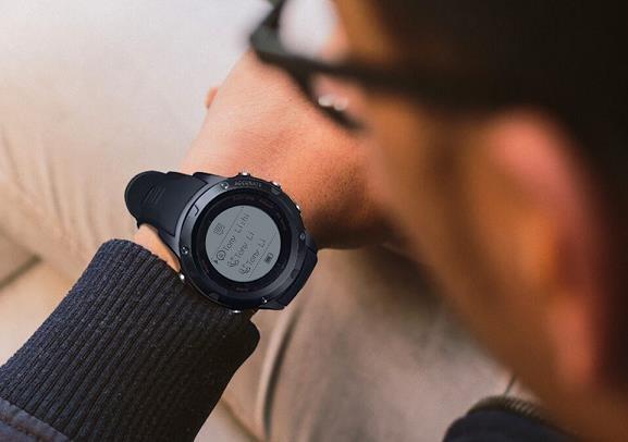 CUBOT F1 Fitness hodinky - černé - obrázek č. 4