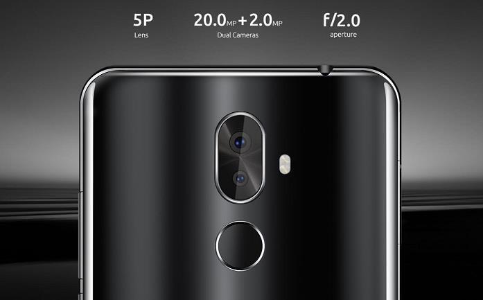 Cubot X18 PLUS, Dual SIM, černá - obrázek č. 4