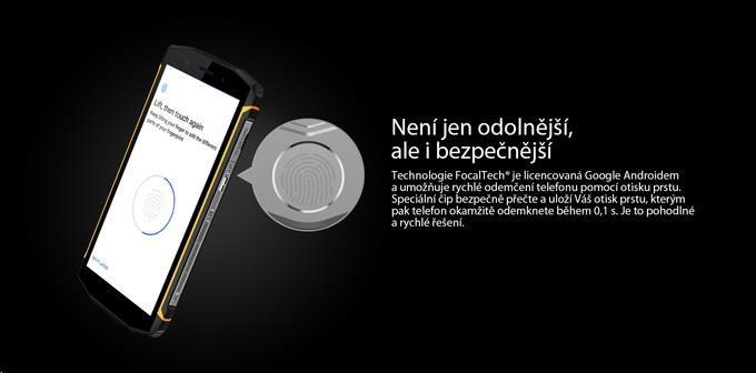 iGET Blackview GBV5800, Dual SIM, IP68 - obrázek č. 8