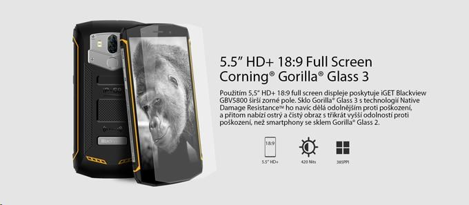 iGET Blackview GBV5800, Dual SIM, IP68 - obrázek č. 0